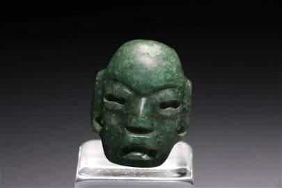 Pre-Columbian Olmec Maskette