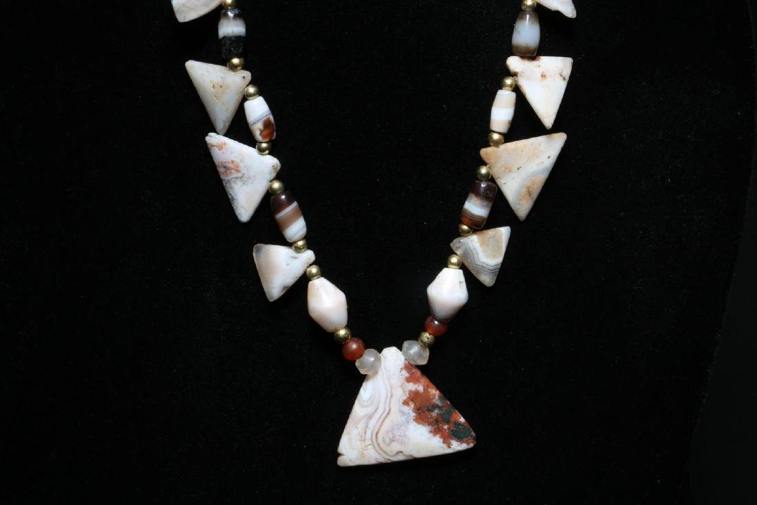 Ancient Stone Necklace - 3