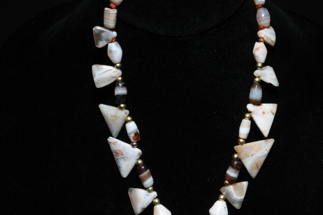 Ancient Stone Necklace - 4