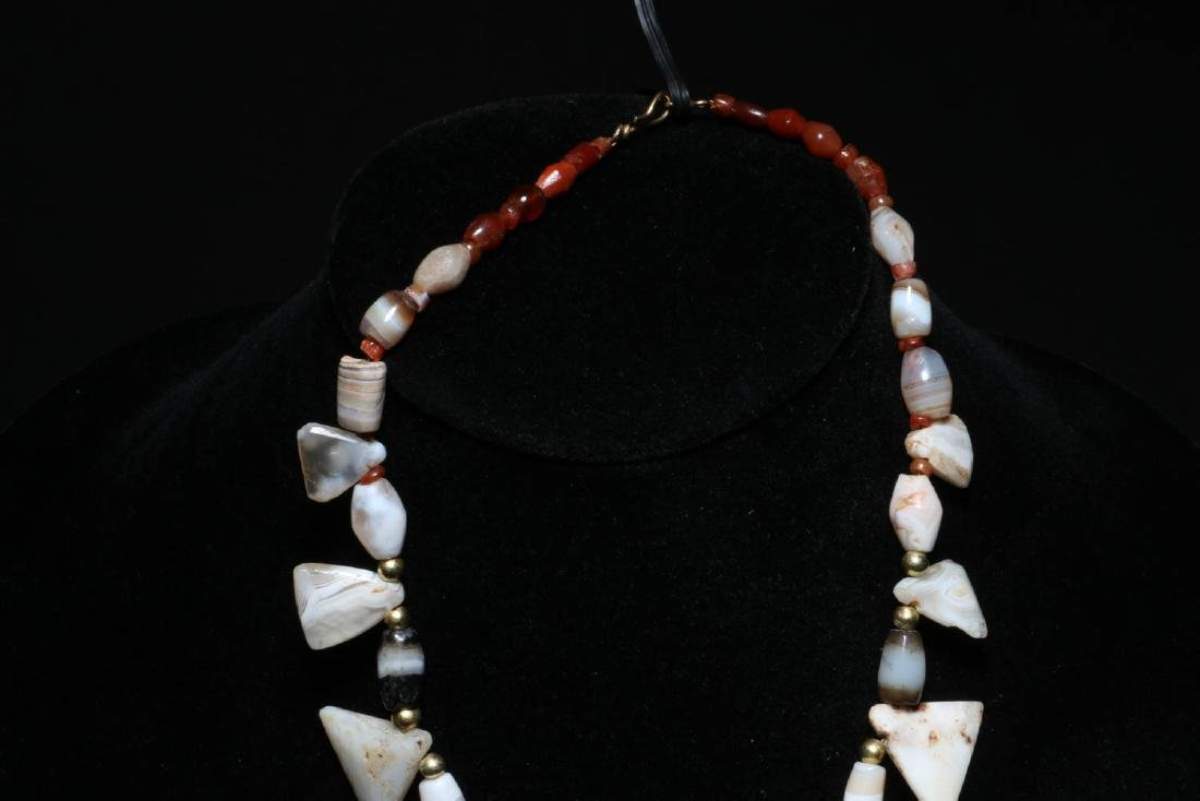 Ancient Stone Necklace - 5