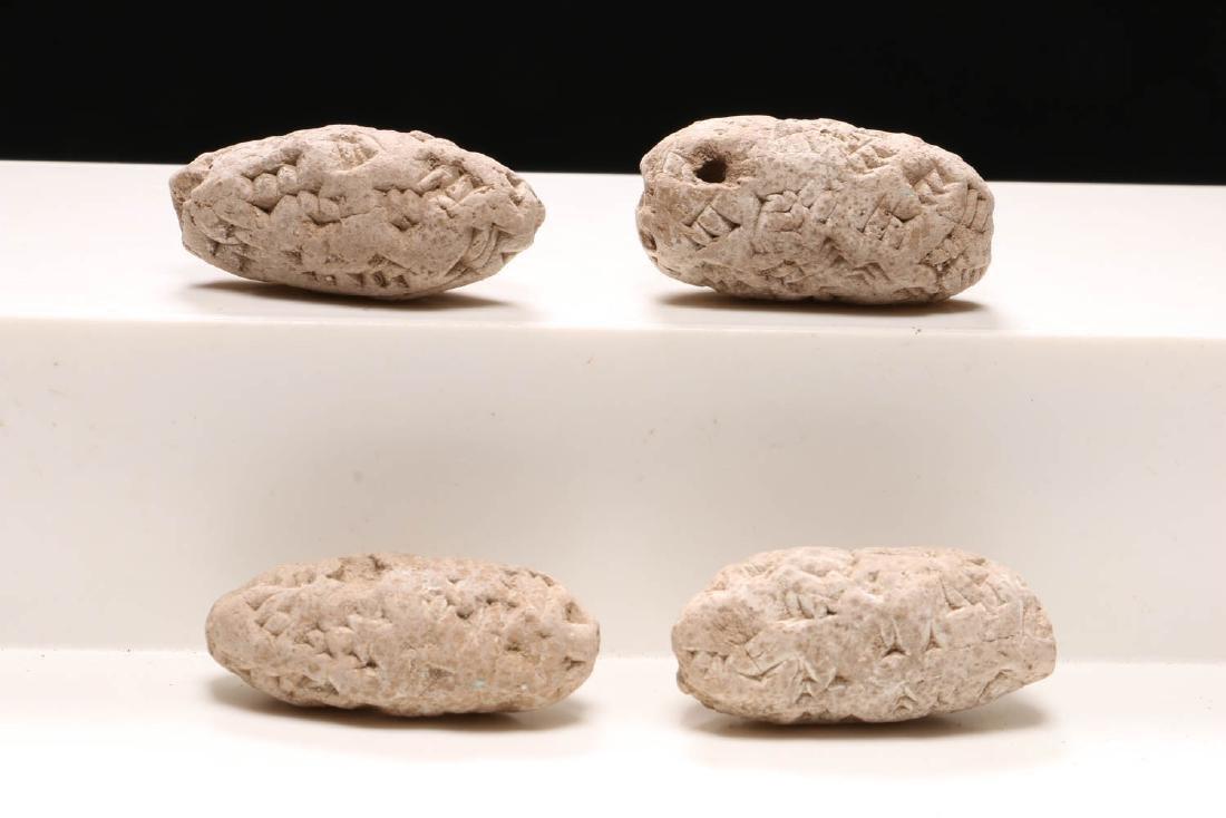 Ancient Sumerian Stone Beads