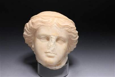 Greek Marble Head