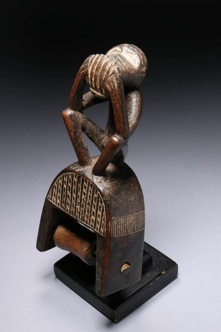 African Art Baule Pulley