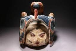 African Art Yoruba Gelede Mask