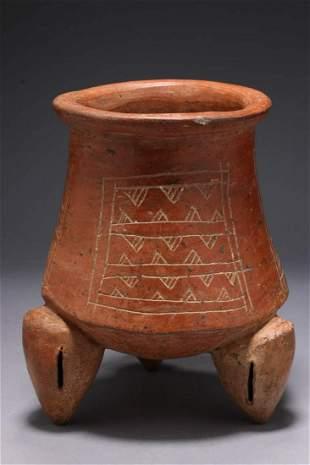 Pre-Columbian Mayan Vessel