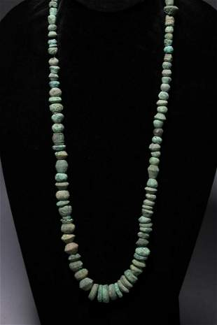 Pre-Columbian Copper Beaded Necklace