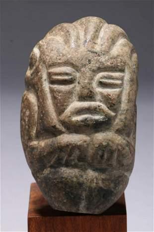 Pre-Columbian Stone Figure