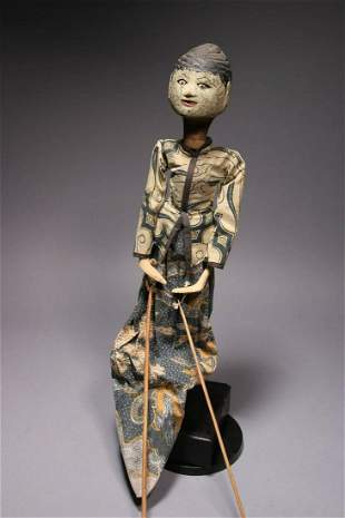 Indonesian Theatre Puppet