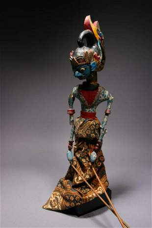 Indonesian Theater Puppet