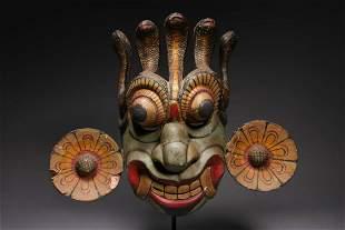 Wood Mask - Sri Lanka