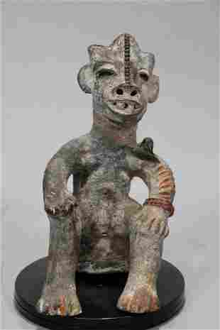 African Art Terracotta Figure