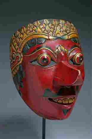 Indonesian Theater Mask
