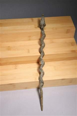 African Art Gan Snake