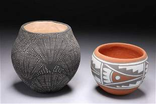 Native American Pottery - Lot of 2