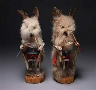 Native American Kachina Dolls - Lot of 2