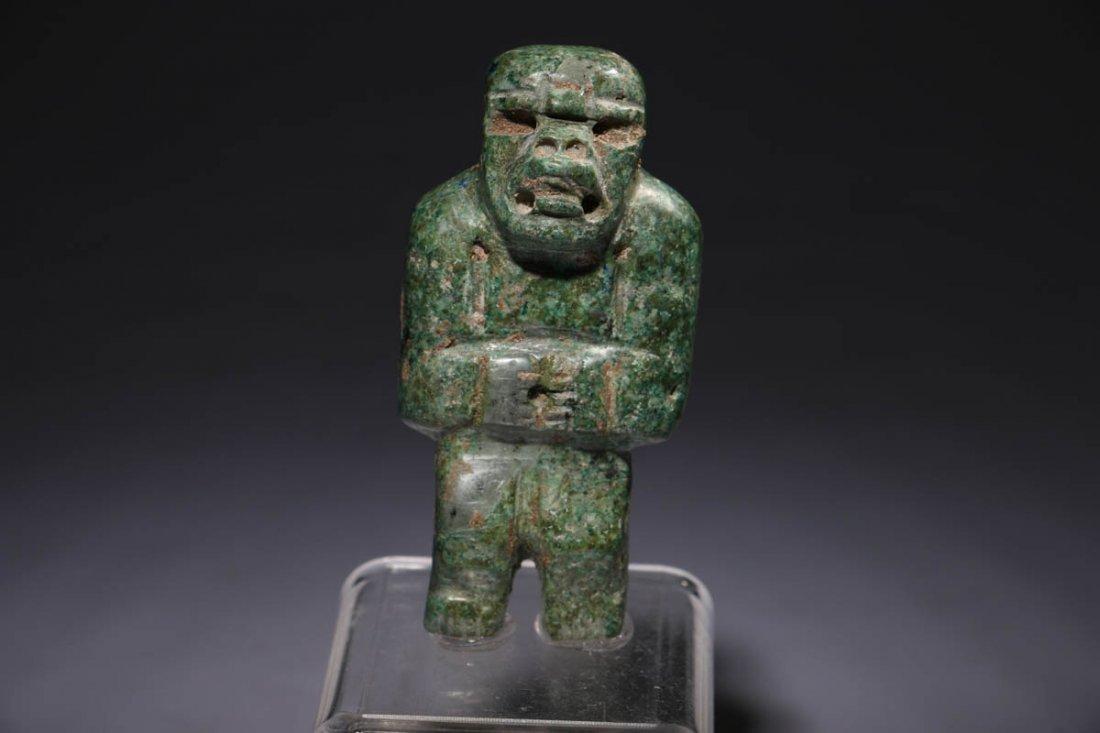 Pre-Columbian Olmec Figure