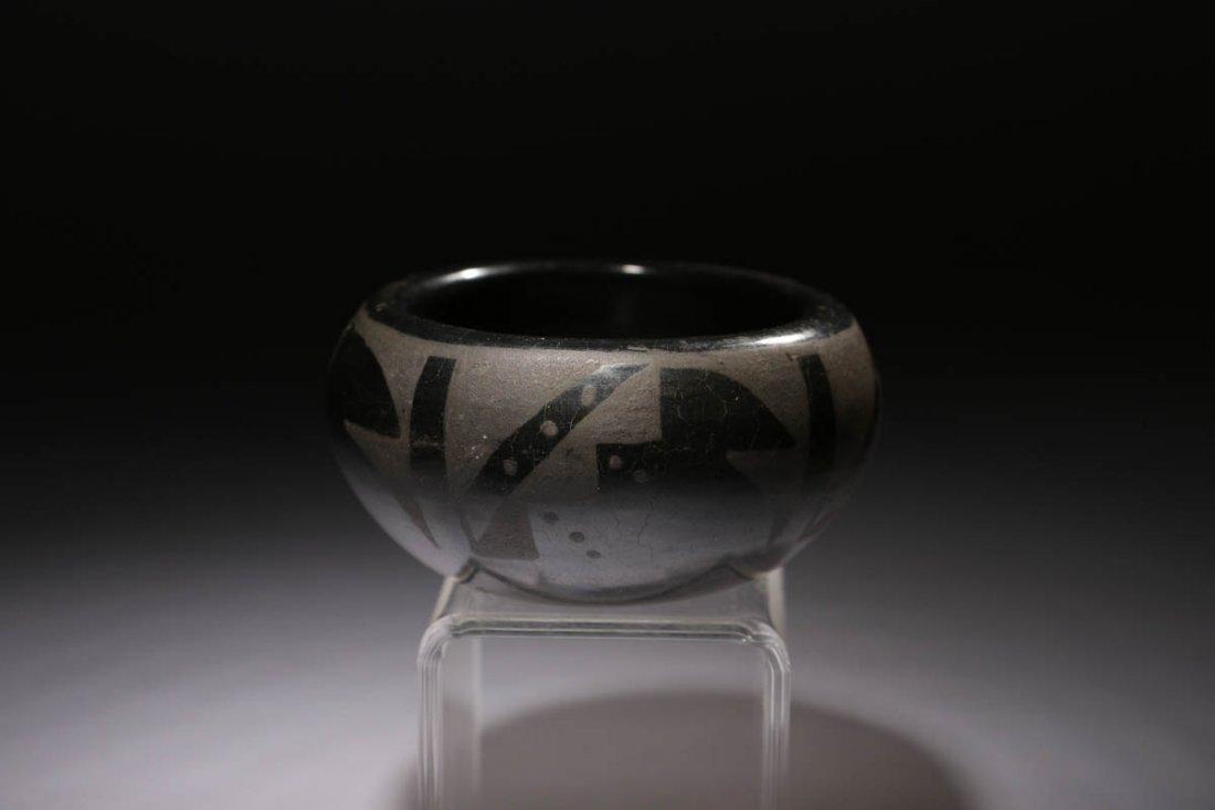 Native American Blackware Bowl