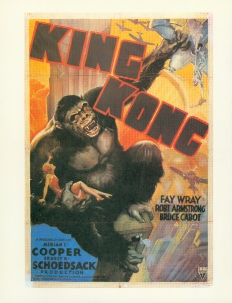 012: KING KONG STILLS PHOTOS FAY WRAY HORROR