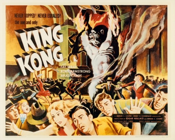 012: KING KONG STILLS PHOTOS FAY WRAY HORROR - 2
