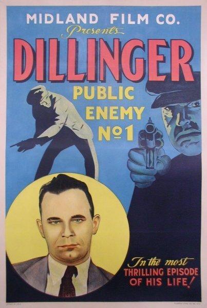 142: DILLINGER: PUBLIC ENEMY NO. 1 CRIME GANGSTER