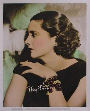001: 1930S FEMALE STARS KAY FRANCIS,OLIVIA DEHAVILLAND