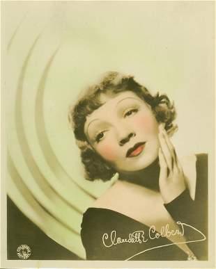 003: 1930'S PORTRAIT STILLS CLAUDETTE COLBERT
