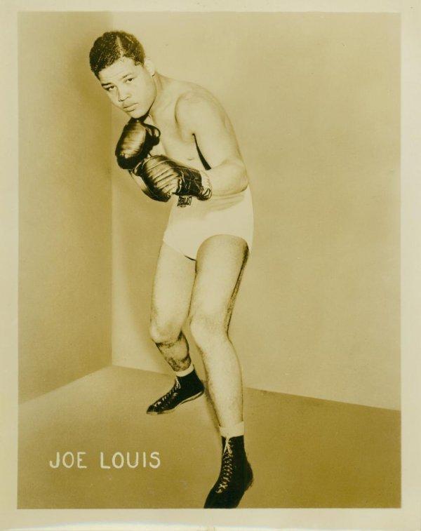 010: BOXING STILLS JOE LOUIS, MAX SCHMELING