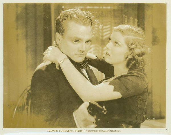 012: TAXI! STILLS JAMES CAGNEY, LORETTA YOUNG