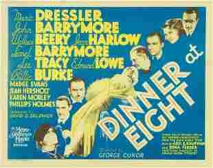 024: DINNER AT EIGHT JEAN HARLOW, JOHN BARRYMORE
