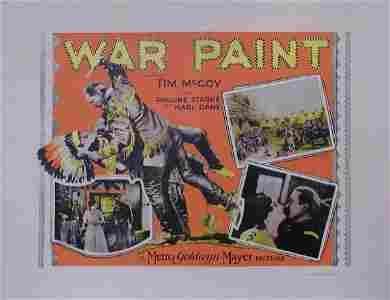 113: WAR PAINT TIM MCCOY