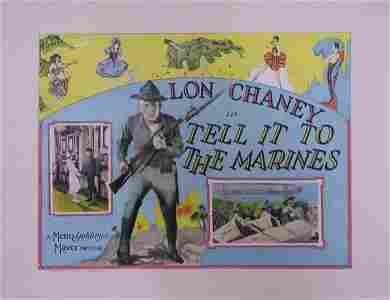 496: TELL IT TO THE MARINES LON CHANEY
