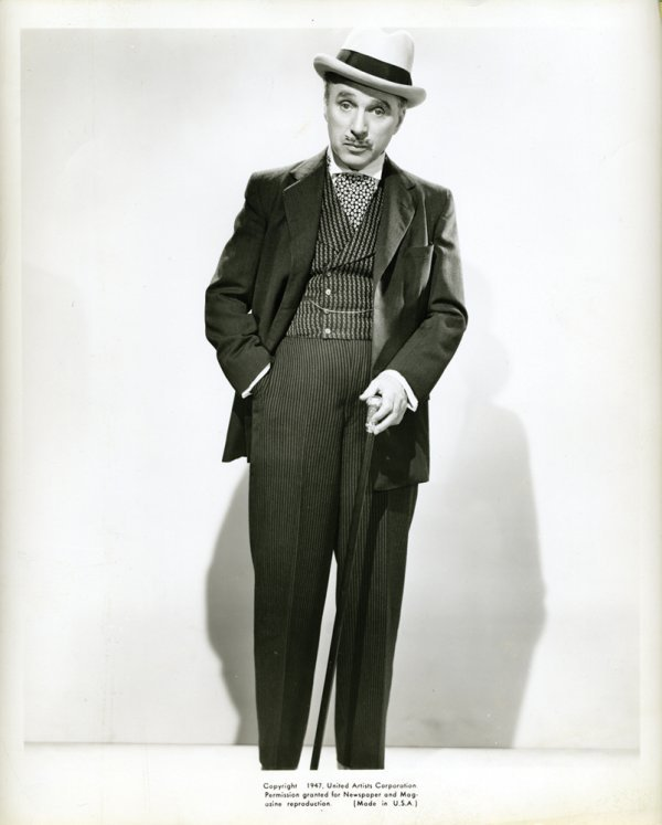 002: MONSIEUR VERDOUX Charles Chaplin