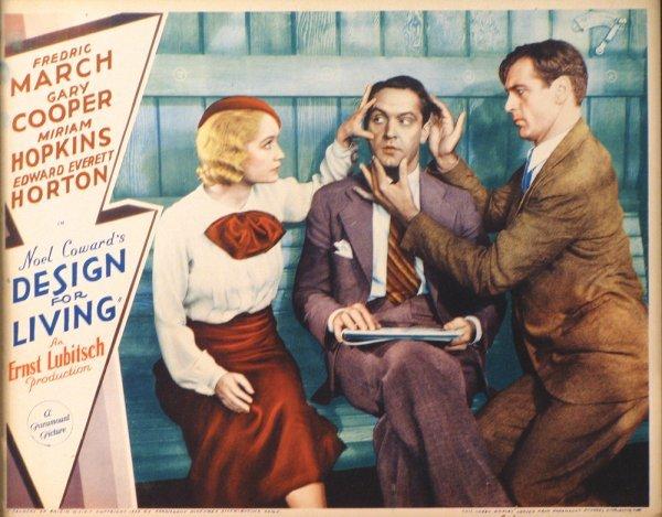 014: DESIGN FOR LIVING Gary Cooper, Miriam Hopkins