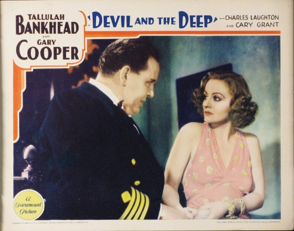 020: DEVIL AND THE DEEP Tallulah Bankhead, Gary Cooper