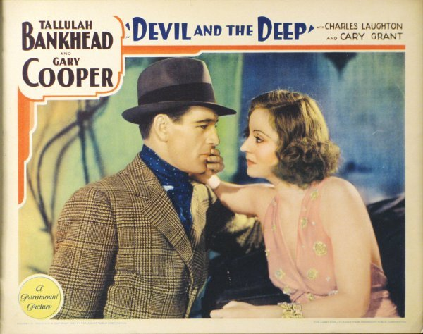 021: DEVIL AND THE DEEP Tallulah Bankhead, Laughton