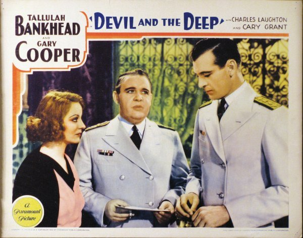 022: DEVIL AND THE DEEP Gary Cooper, Charles Laughton