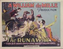 549: RUNAWAY Clara Bow, Warner Baxter