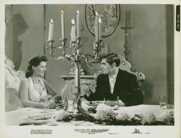 14: BLOOD AND SAND Rita Hayworth, Tyrone Power