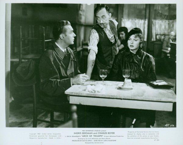 23: ARCH OF TRIUMPH Ingrid Bergman
