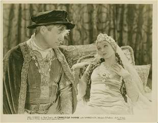 CONNECTICUT YANKEE, A Will Rogers, Myrna Loy
