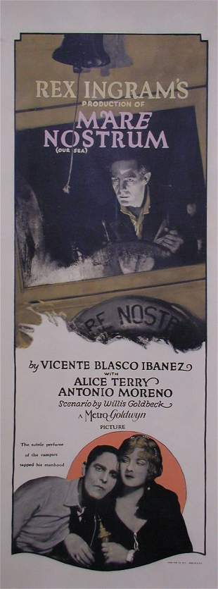 MARE' NOSTRUM Alice Terry, Antonio Moreno