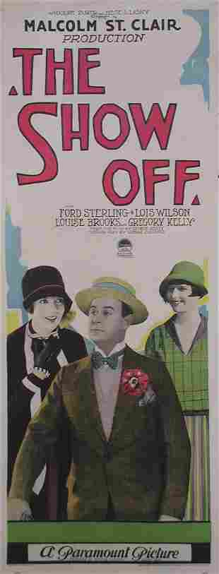 SHOW OFF, THE Louise Brooks, Lois Wilson