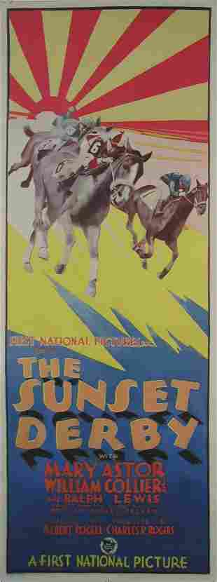 SUNSET DERBY, THE Mary Astor, William Collier