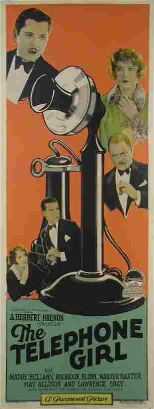 TELEPHONE GIRL, THE Warner Baxter, Madge Bellamy