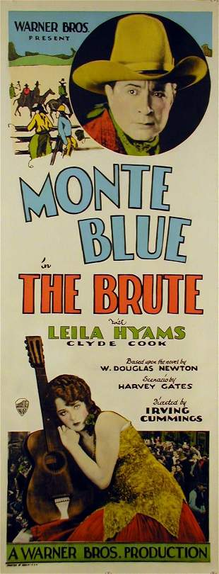 BRUTE, THE Clyde Cook, Monte Blue