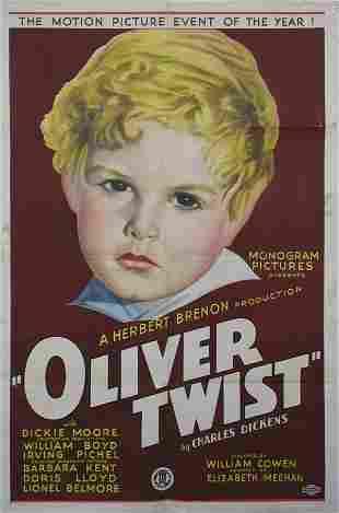 OLIVER TWIST Dickie Moore