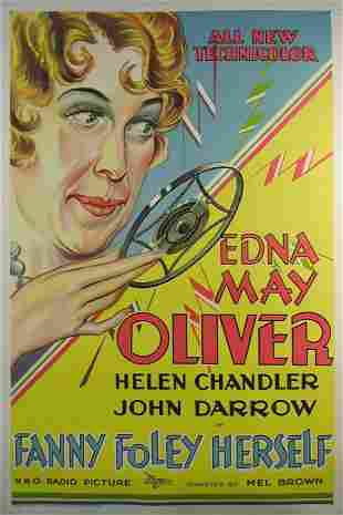 FANNY FOLEY HERSELF Edna May Oliver