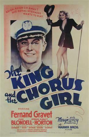KING AND THE CHORUS GIRL, THE Joan Blondell