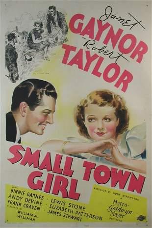 SMALL TOWN GIRL Janet Gaynor, Robert Taylor