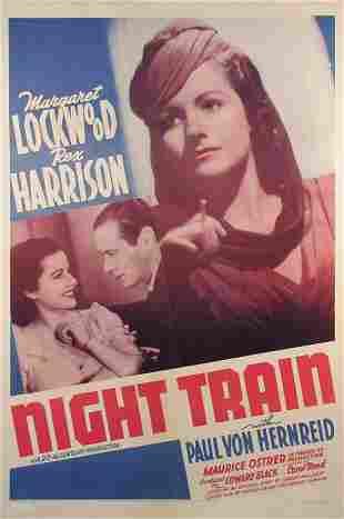 NIGHT TRAIN Rex Harrison, Margaret Lockwood